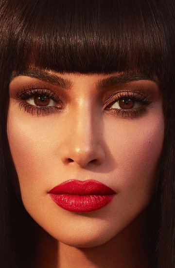 gwiazdy noszą grzywki Kim Kardashian