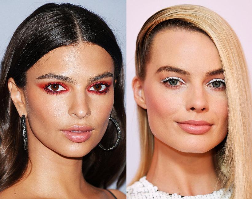 hot trendy makijaż