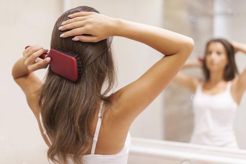jak czesać włosy