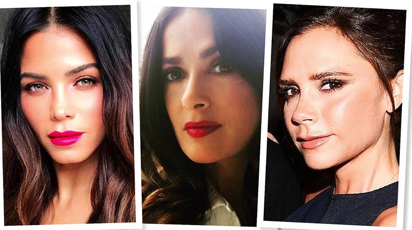 Jenna Tatuum, Salma Hayek i Victoria Beckham