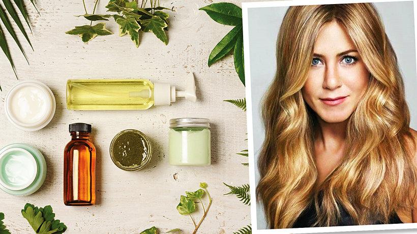 Jennifer Aniston i kosmetyki