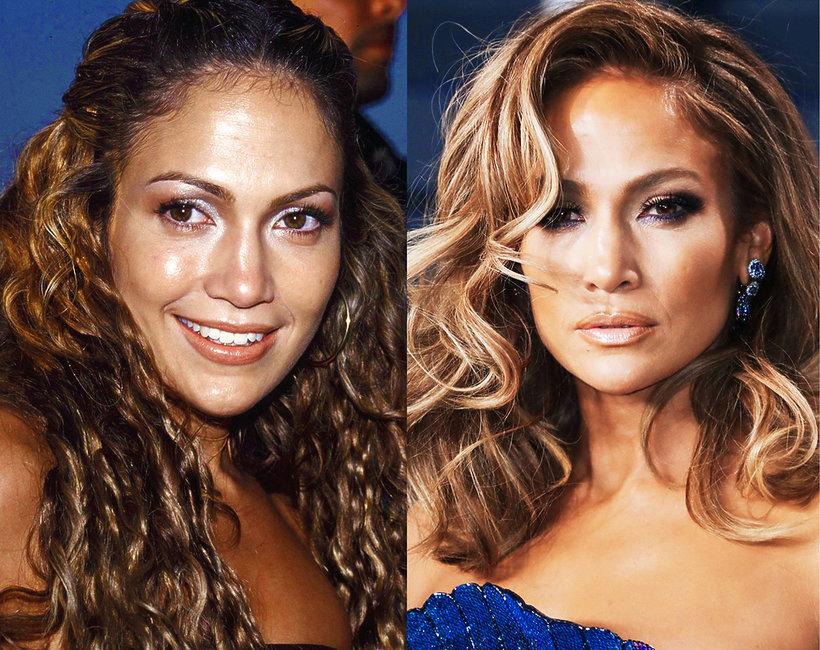 Jennifer Lopez metamorfoza, makijaż, włosy
