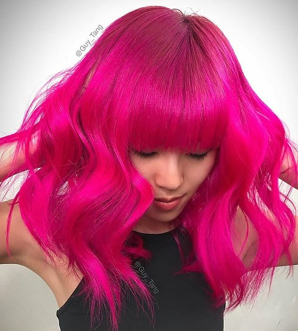 Kolory włosów na 2018