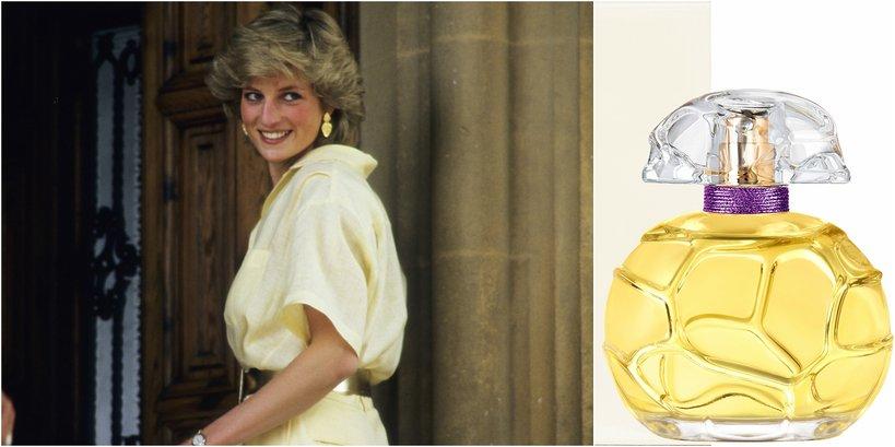 Księżna Diana i jej perfumy