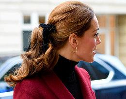 Księżna Kate wie, jak dodać elegancji zwykłemu kucykowi!