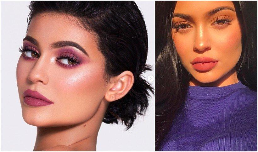 Kylie Jenner na dwóch portretach