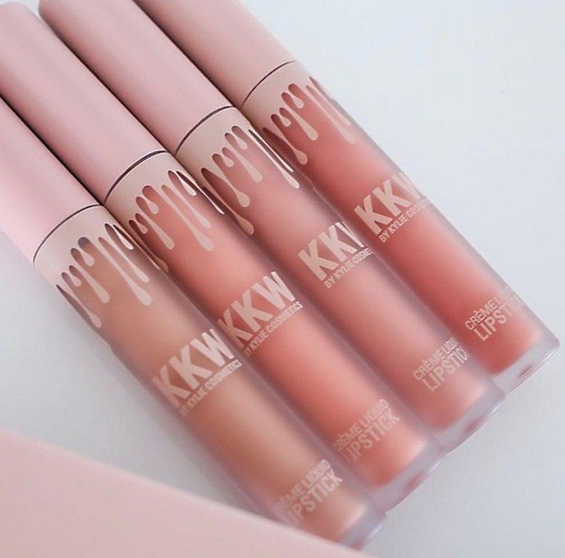 Błyszczyki do ust KKW z kolekcji Kylie Cosmetics