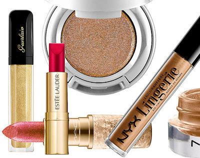 #Glitter w akcji! Oto szybki i prosty makijaż świąteczny!