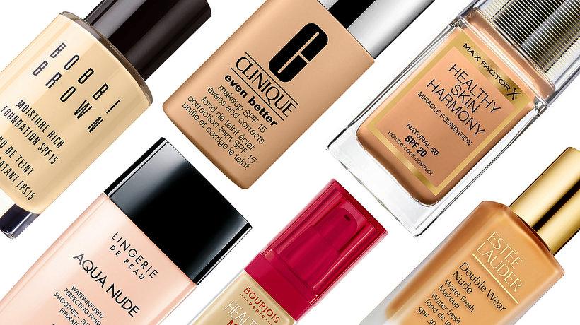 Healthy Mix BOUJOIS, najlepsze podkłady do suchej skóry Double Wear Nude Water Fresh Makeup
