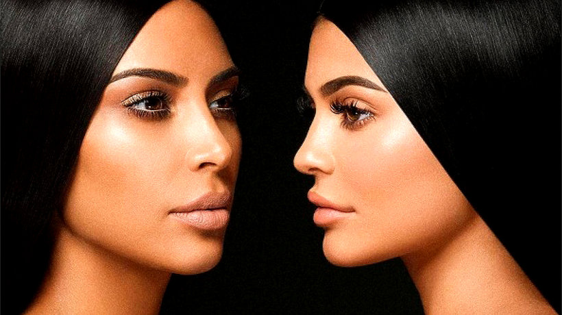 Kim Kardashian West i Kylie Jenner