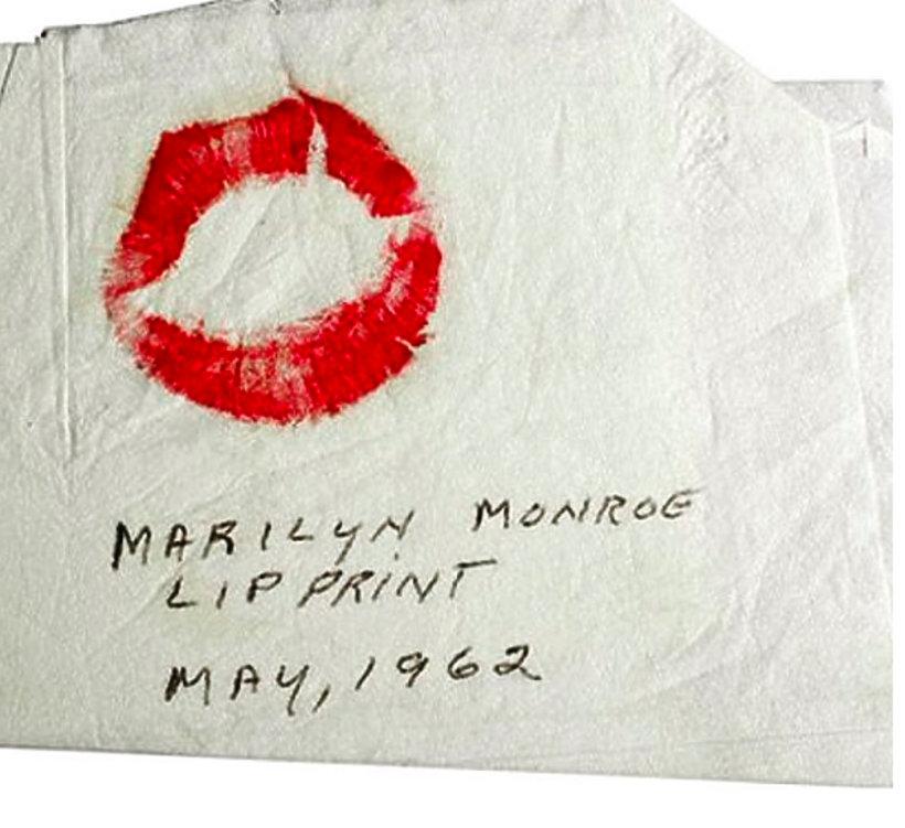 Odcisk ust Marylin Monroe