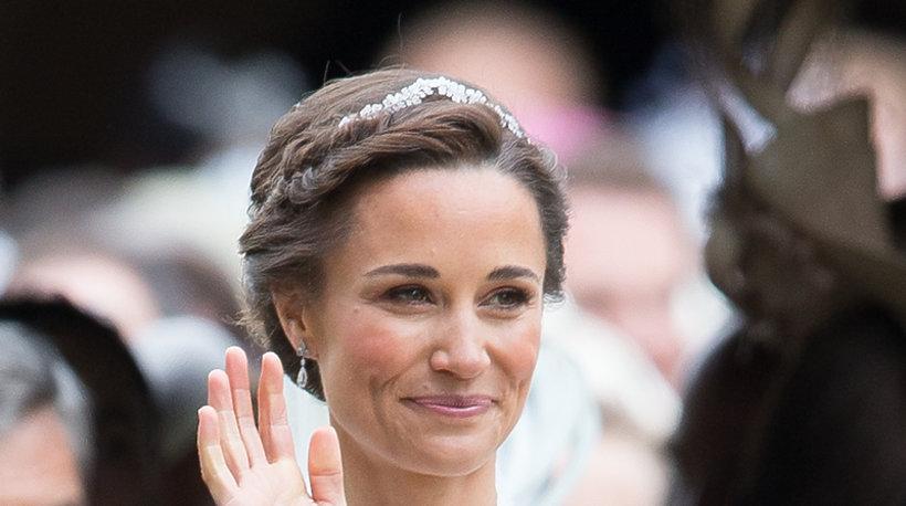 Pippa Middleton w dniu swojego ślubu w naturalnym makijażu