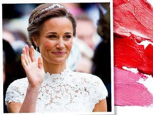 Pippa Middleton w naturalnym makijażu w dniu ślubu