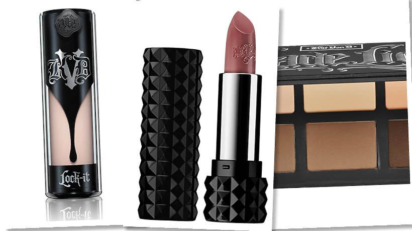 Podkład, szminka i paleta do konturowania Kat Von D Beauty
