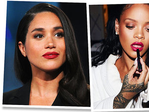 Trend dla odważnych: kolorowe usta! Zainspirujecie się Rihanną, Kendall Jenner i Meghan Markle?
