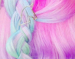 Włosy jednorożec