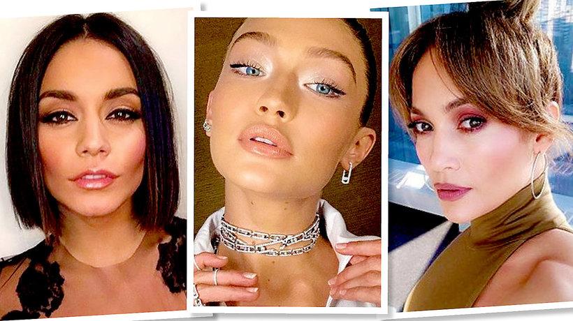 Makijaże i fryzury na sylwestra 2018