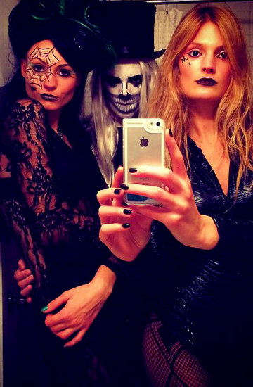 makijaże na halloween