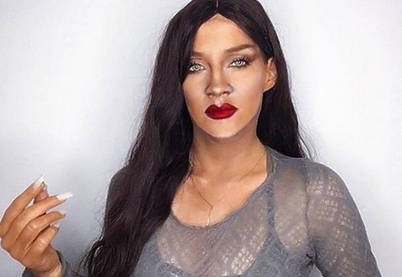 Marina Mamic jako Rihanna