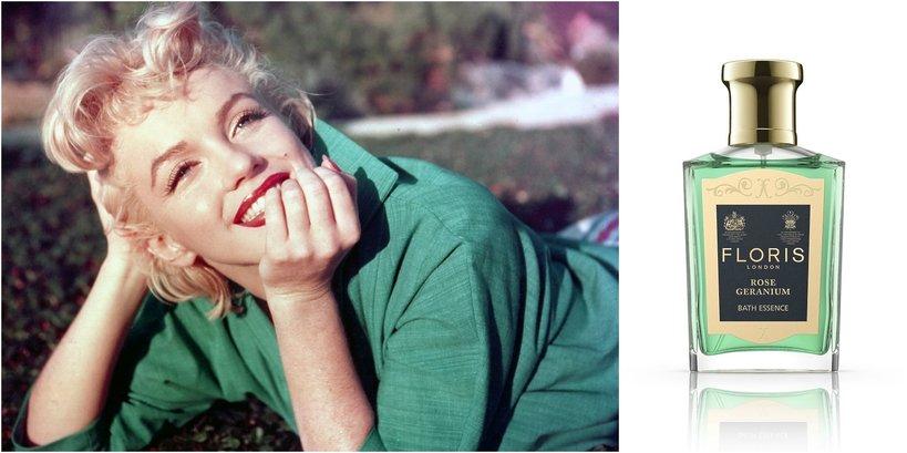 Marylin Monroe i jej perfumy