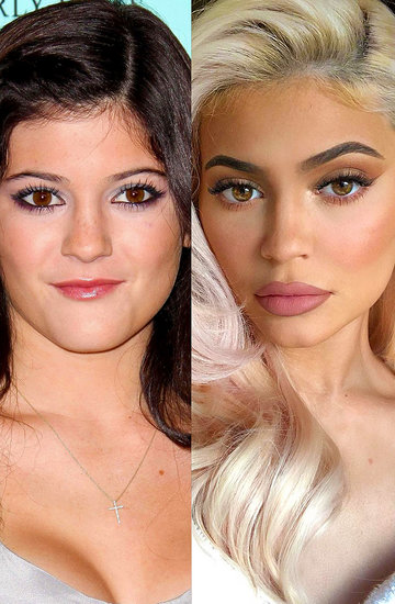 metamorfoza Kylie Jenner