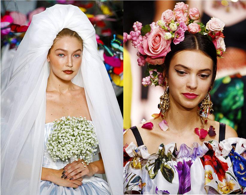 milan fashion week beauty makijaż