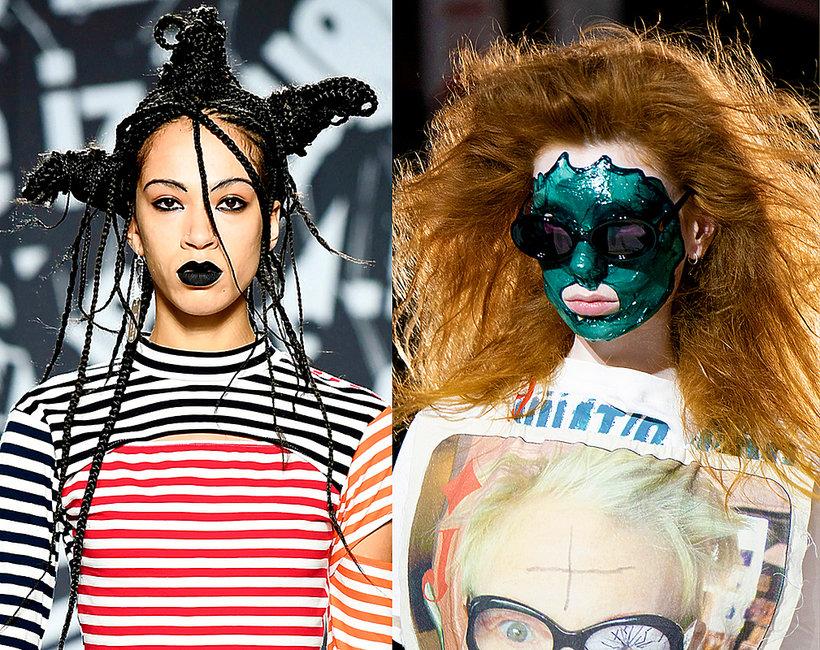 najciekawsze makijaże z London Fashion Week