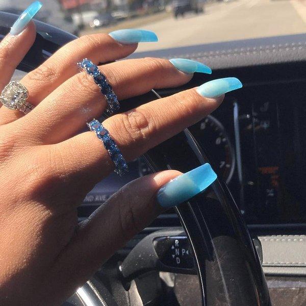 najmodniejsze paznokcie na instagramie