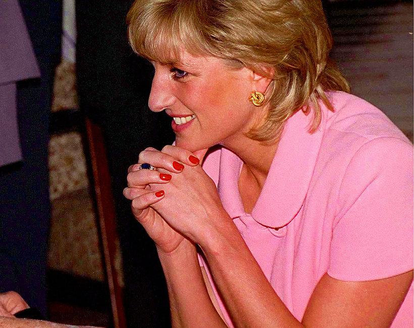 paznokcie księżna Diana