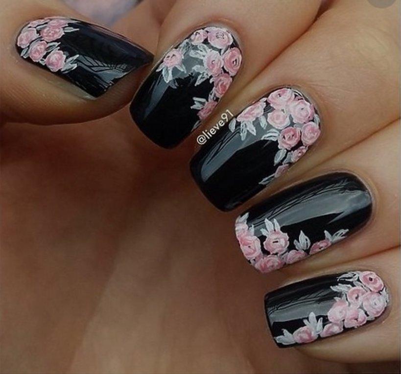 Kwiatowy Manicure Wzorki Vivapl