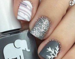 Oto najmodniejsze zimowe wzorki na paznokcie! Zobacz, jak wykonać idealne śnieżynki!