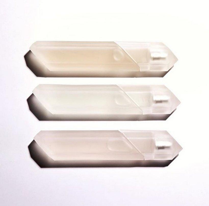 Perfumy KKW Fragrance od Kim Kardashian - trzy flakony