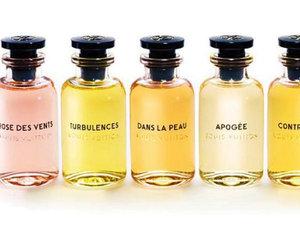 Perfumy Louis Vuitton i podróżne opakowanie na flakony