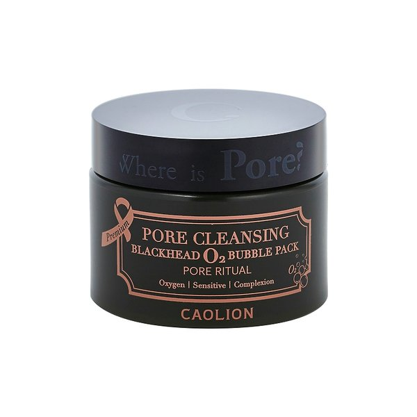 Oczyszczająca maseczka do twarzy z bąbelkami Premium Purifying 02 Bubble Pore Pack, Caolion, 99 zł (Sephora.pl)