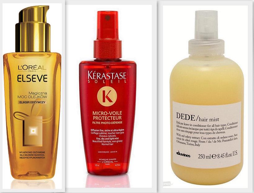Odżywki do włosów bez spłukiwania moc olejków l'oreal