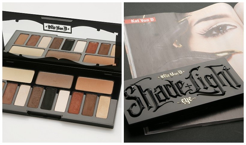 Paleta do oczu Shade&Light Palette Kat Von D Beauty