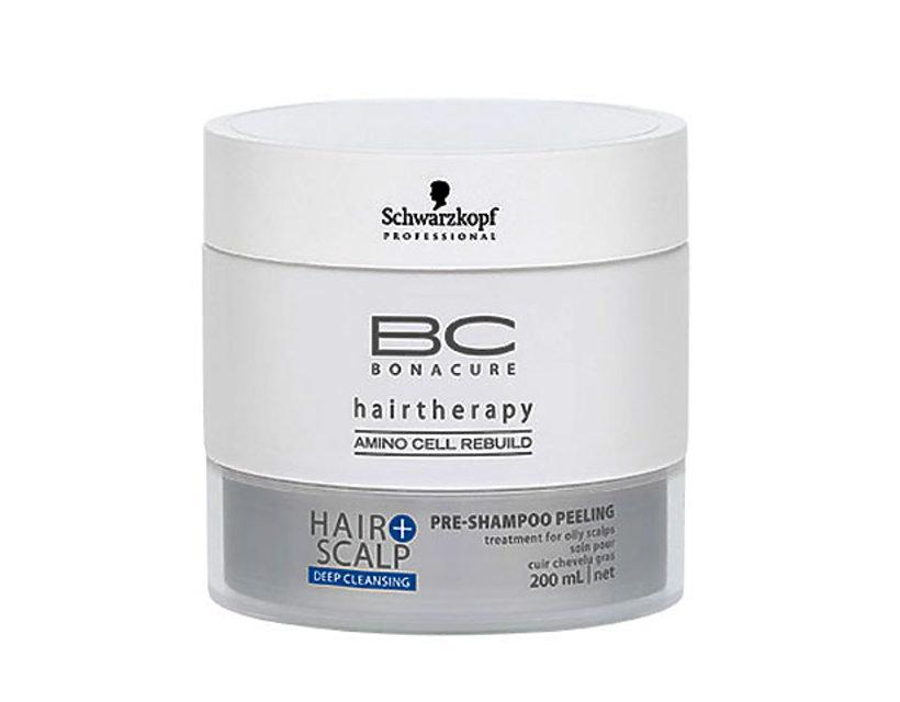 Peeling głęboko oczyszczający przed myciem głowy BC Bonacure SCHWARZKOPF PROFESSIONAL, ok. 50 zł