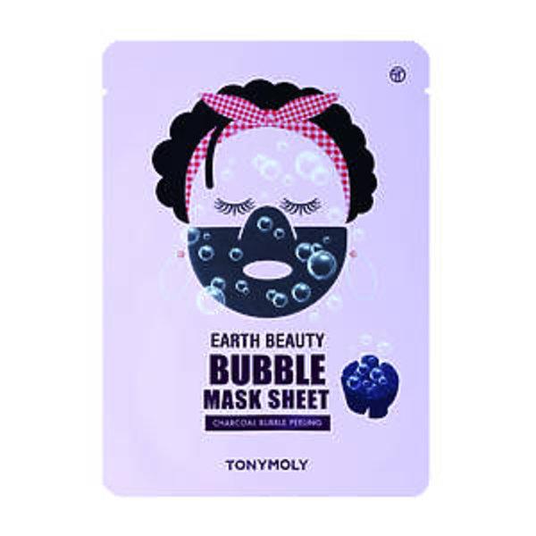 Piankowa maseczka z tkaniny, Earth Beauty Bubble Sheet, TONY MOLY, 29 zł (Sephora.pl)