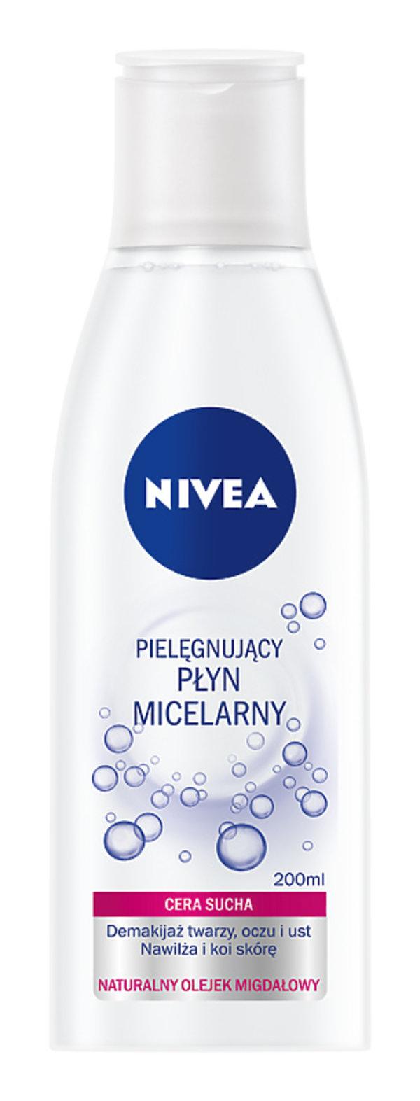 Pielęgnujący płyn micelarny dla skóry suchej, Nivea, 15,99 zł