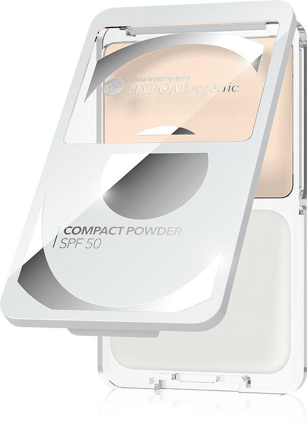 Puder w kompakcie z SPF 50 Hypoalergenic, BELL, 34,99 zł