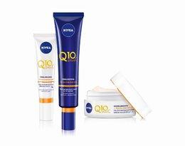 Seria kosmetyków odmładzających  dotleniających skórę Q10 plusC, NIVEA, 39,99 zł (za każdy z kremów)