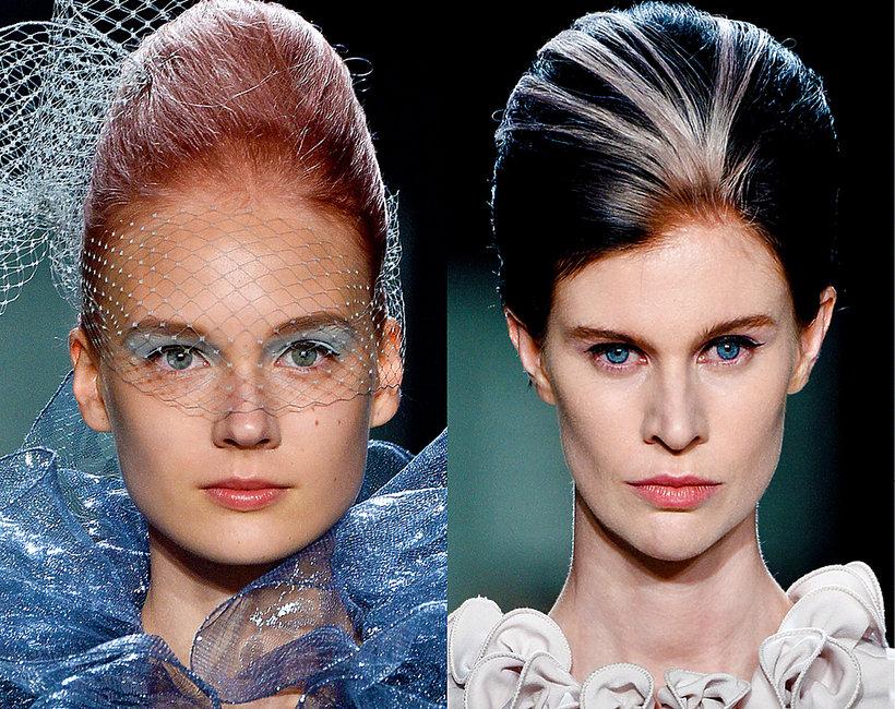 pokaz Marc Jacobs, farbowane włosy
