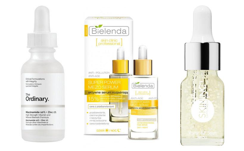 Przegląd produktów do twarzy z witaminą B3