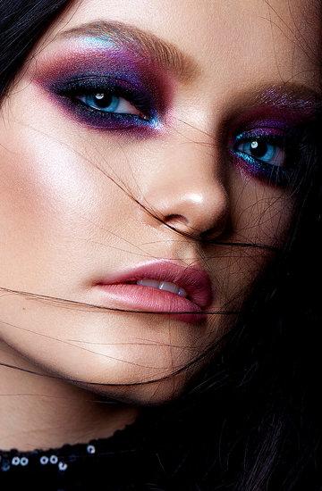 smoky makijaż