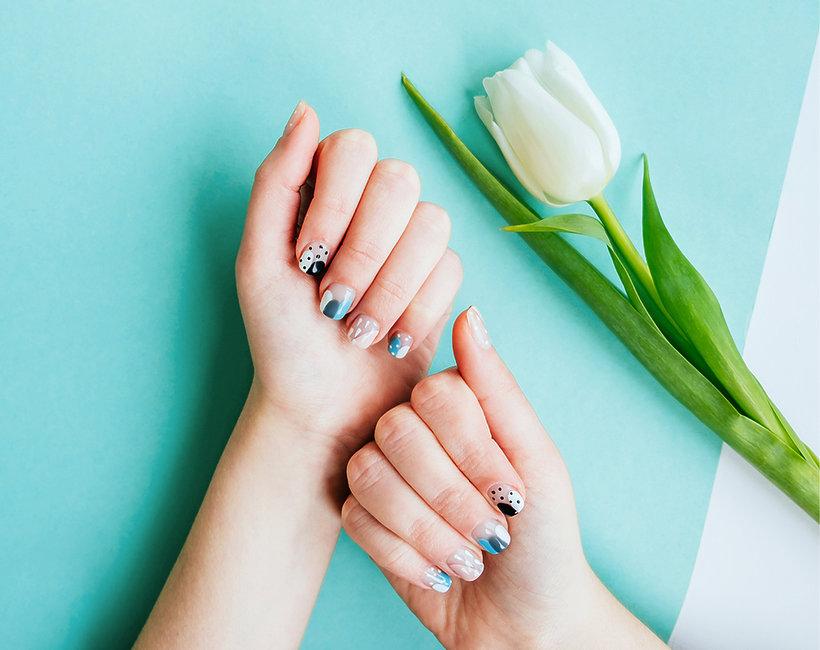 Stylizache paznokci na wielkanoc