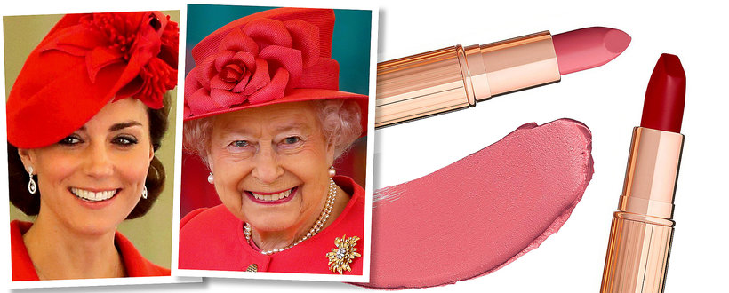 Szminki dla księżnej Kate i królowej Anglii