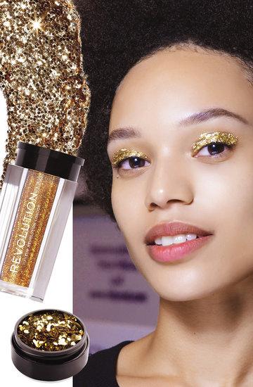 trend glitter, brokat, uroda, kosmetyki