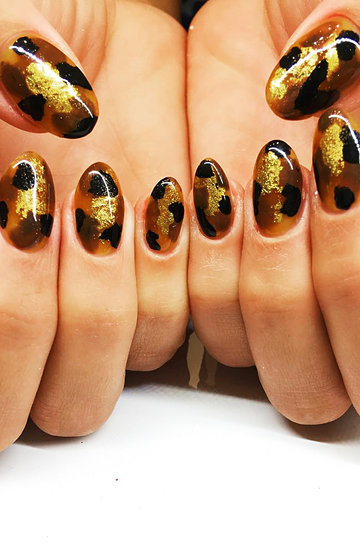 żółwiowe paznokcie