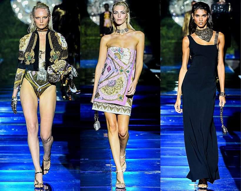 Versace by Fendi pokaz wiosna lato 2022 kolekcja Donatella Versace Kim Jones 24