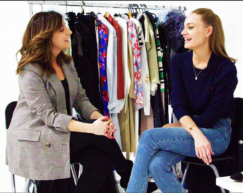 VIVA! Fashion talk Basia Łubko - rozmowa z supermodelką Anią Jagodzińską WIDEO Co Ania ma w szafie? Jak wygląda jej garderoba?